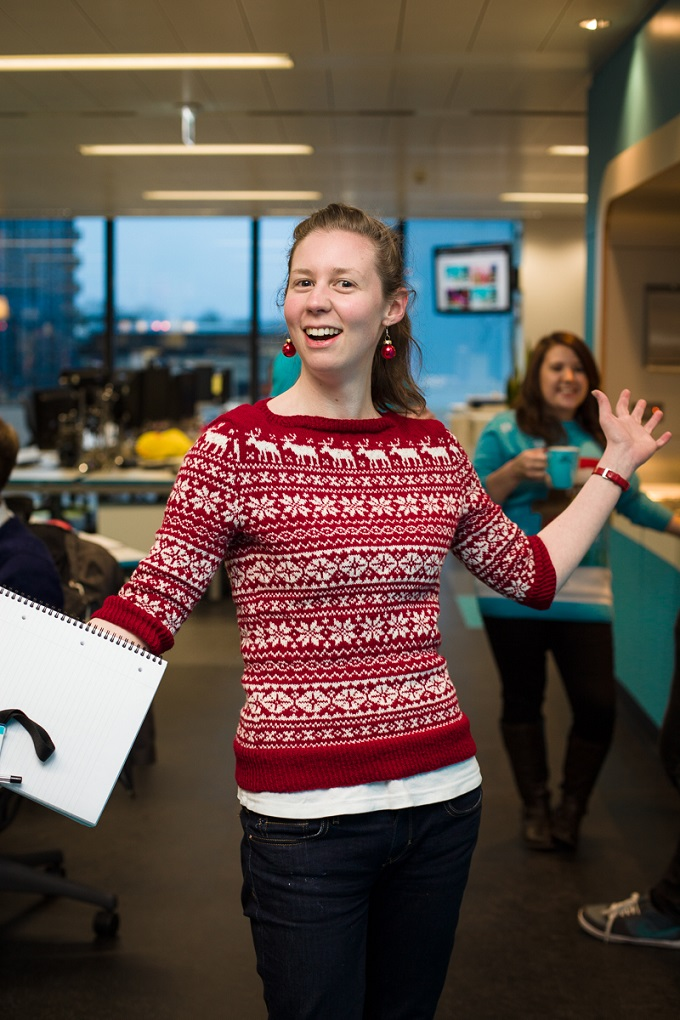 e3abbf100 Christmas Jumper Day at Skyscanner