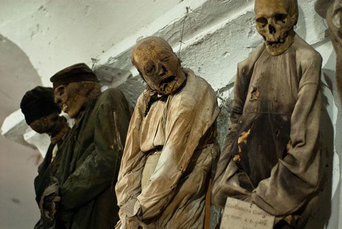 Preserved bodies, Catacombe dei Cappuccini