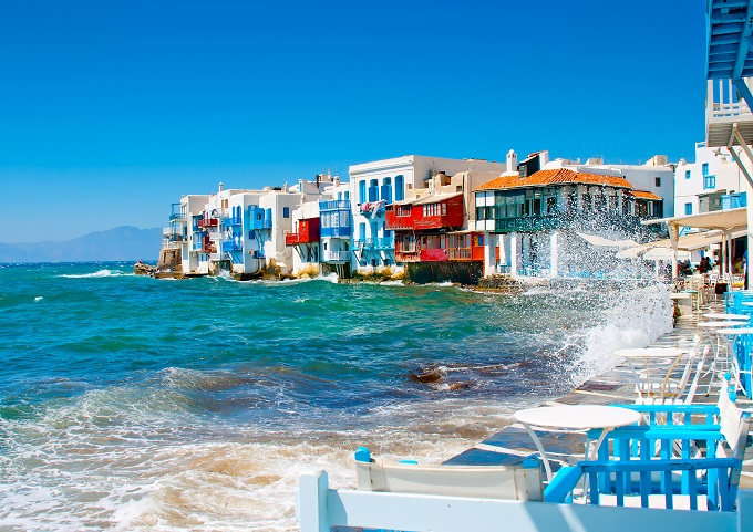 Mykonos - Greece's version of Venice is just as beautiful
