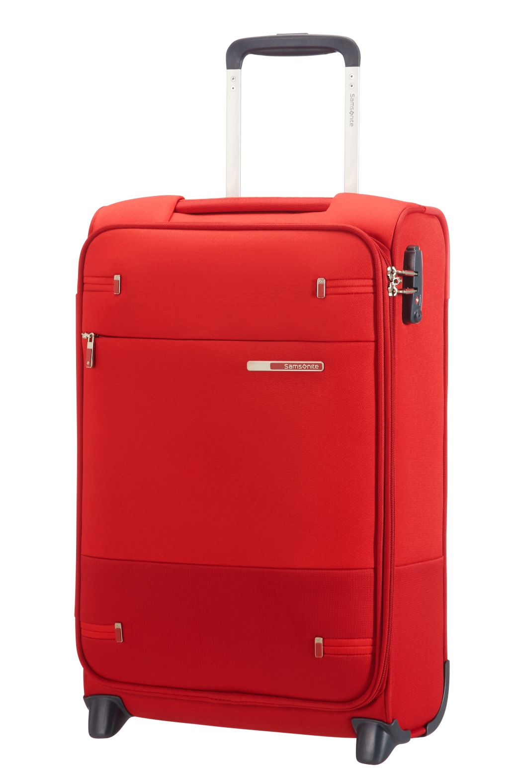 Samsonite Base Boost Upright luggage in red