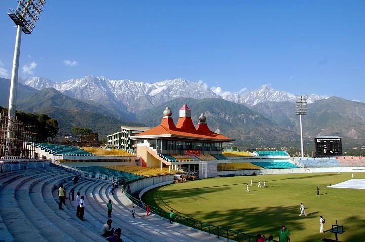 HPCA Stadium Dharamshala, India ©Abhijit Athavale / Flickr
