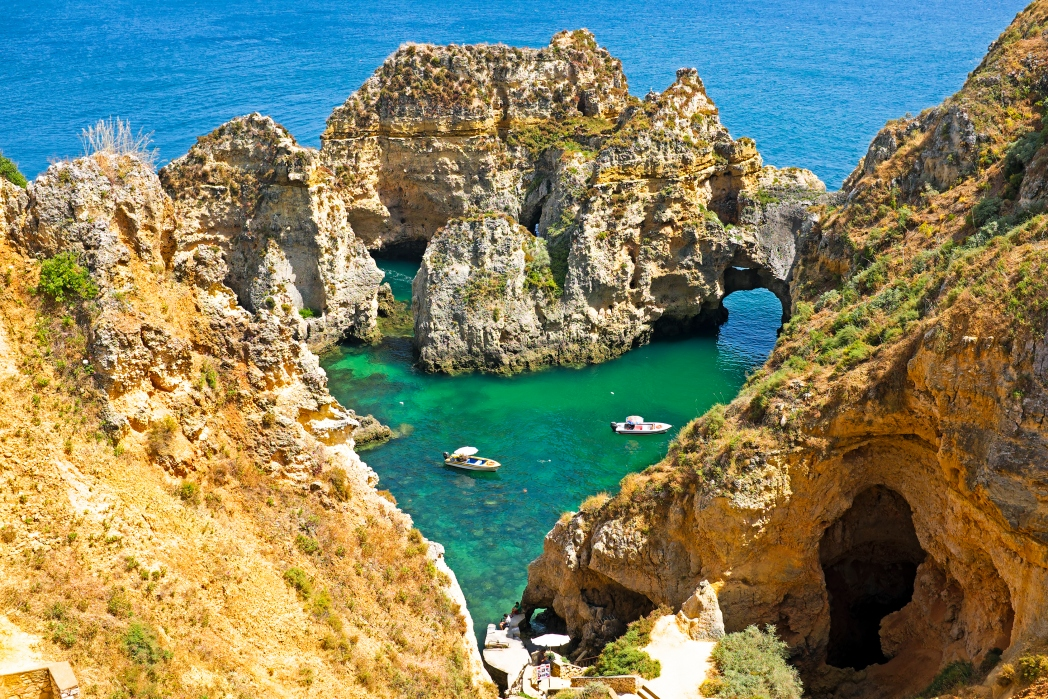The Algarve has some spectacular beaches
