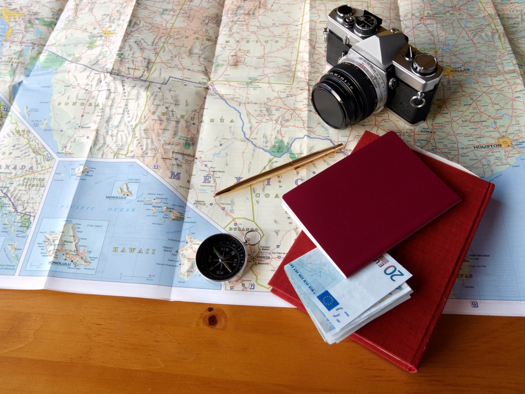 A passport is the number one travel essential