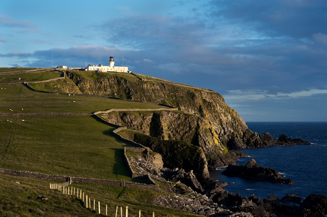 Shetland coast, Outer Hebrides