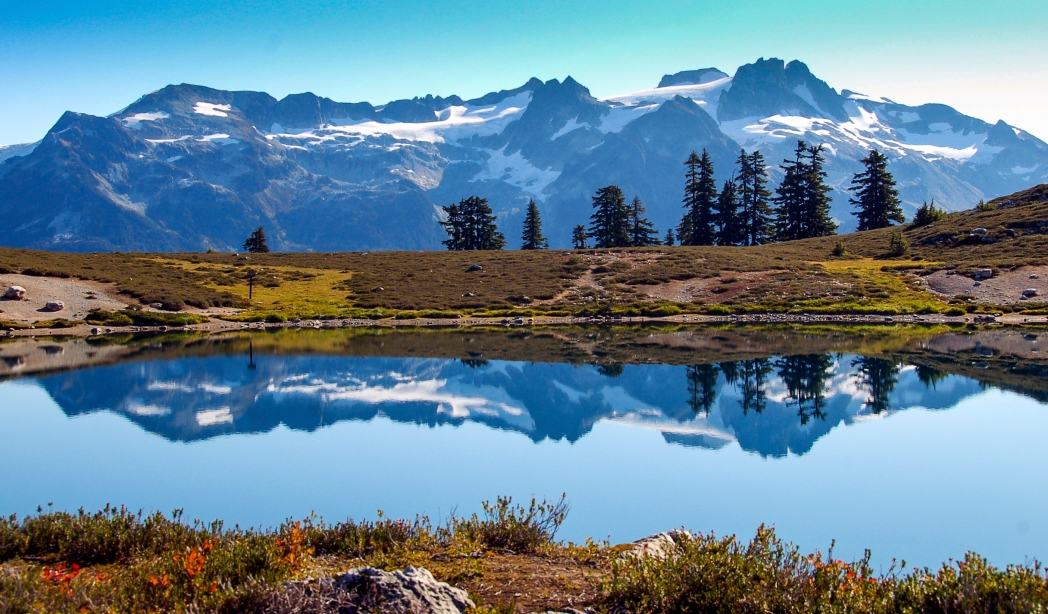Whistler mountain range, British Columbia