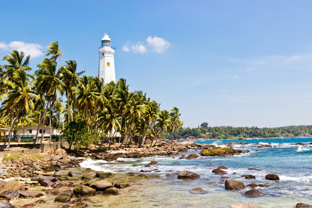 Lighthouse at Galle fort, Sri Lanka