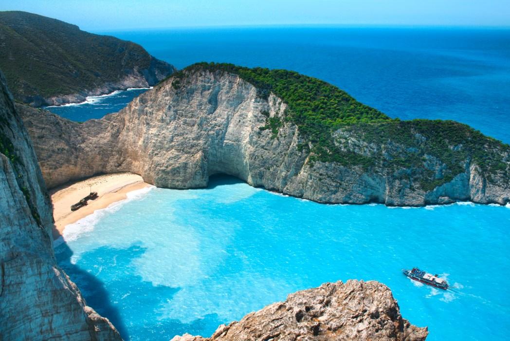 Beaches beaches in the Mediterranean