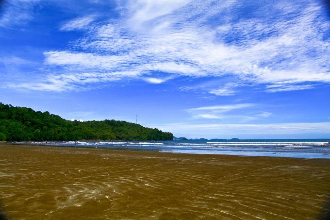 Air Manis Beach, West Sumatra, Indonesia.