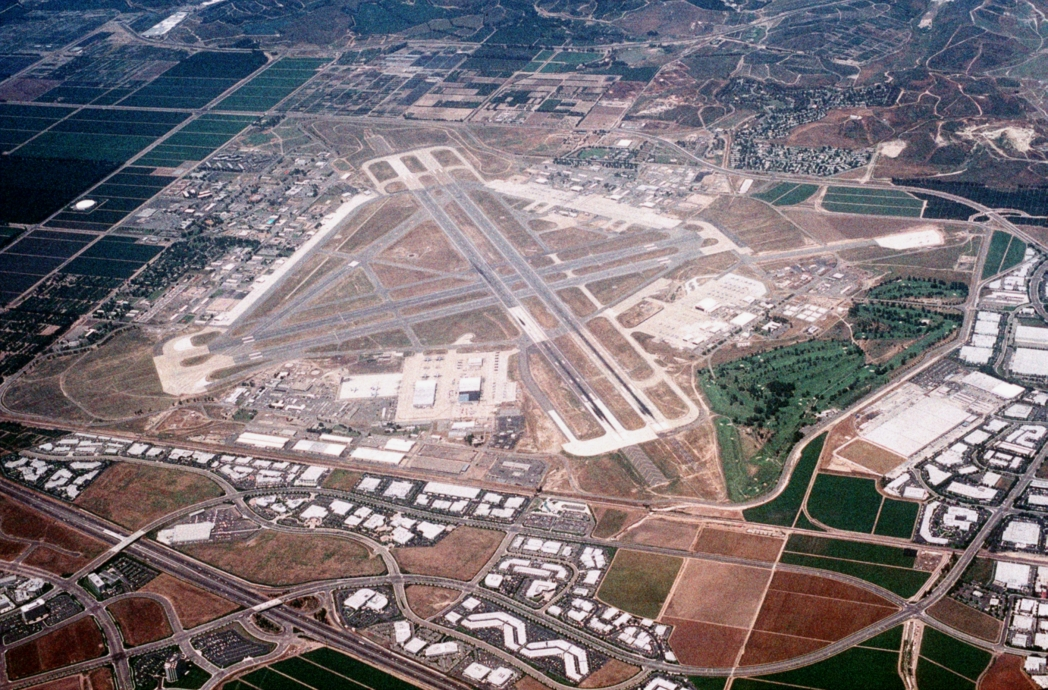 Abandoned airports in California