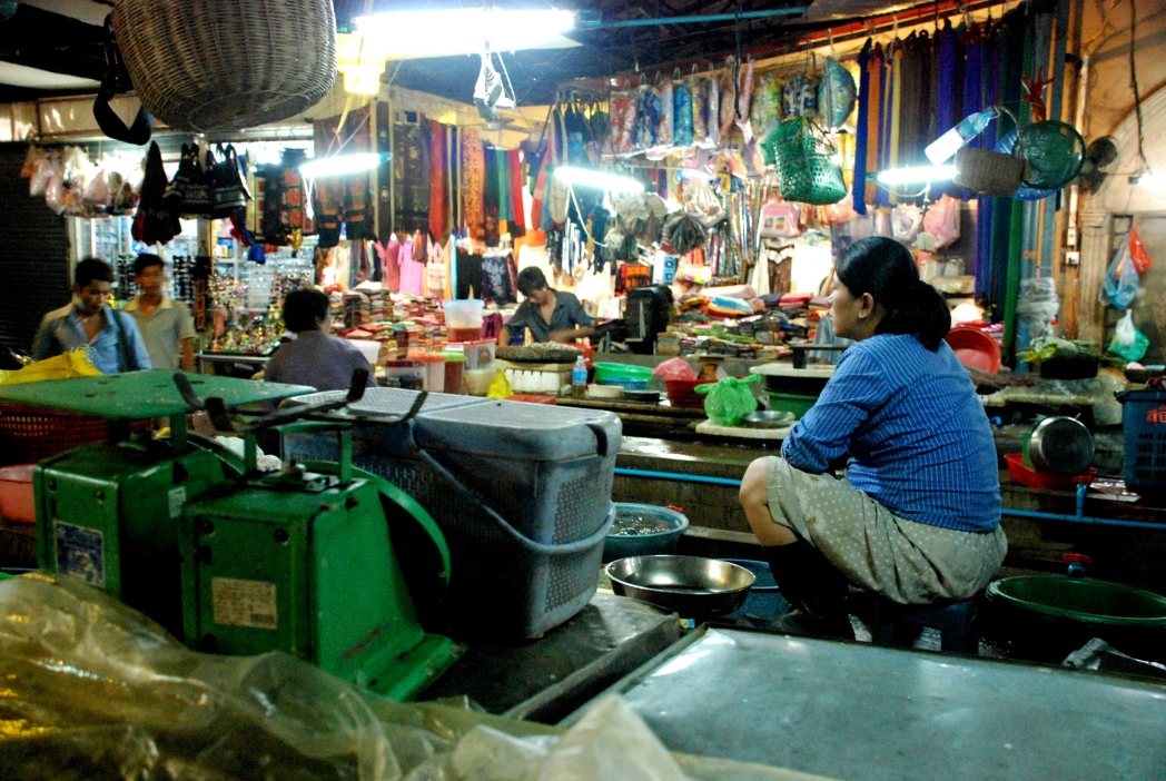 Night Market, Siem Reap