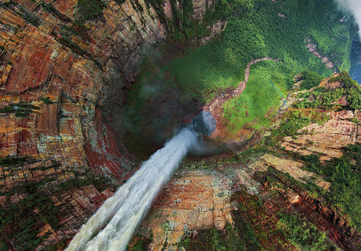 Churún-Merú waterfall, Venezuela