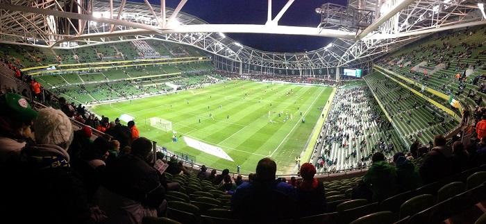 Aviva Stadium, Dublin, Ireland ©Sean MacEntee / Flickr