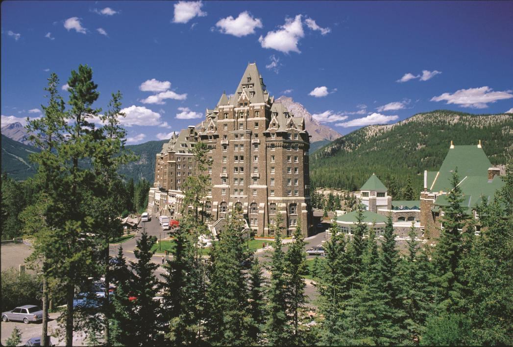 Fairmont Banff Springs is one of Banff's best hotels