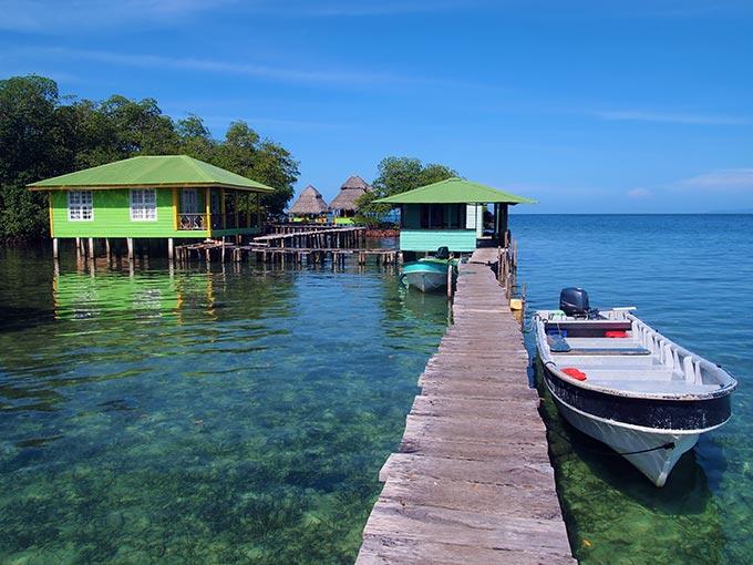 Explore Bocas Del Toro province in Panama.