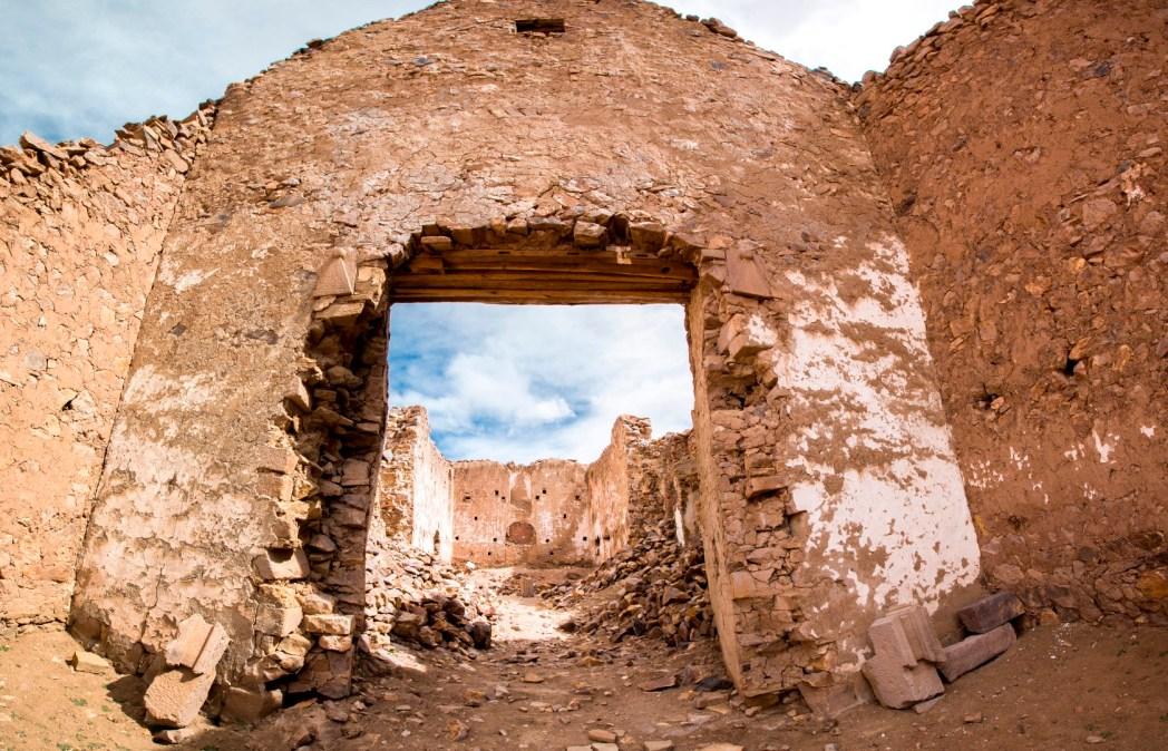 Ruins of the ancient village of San Antonio de Lipez