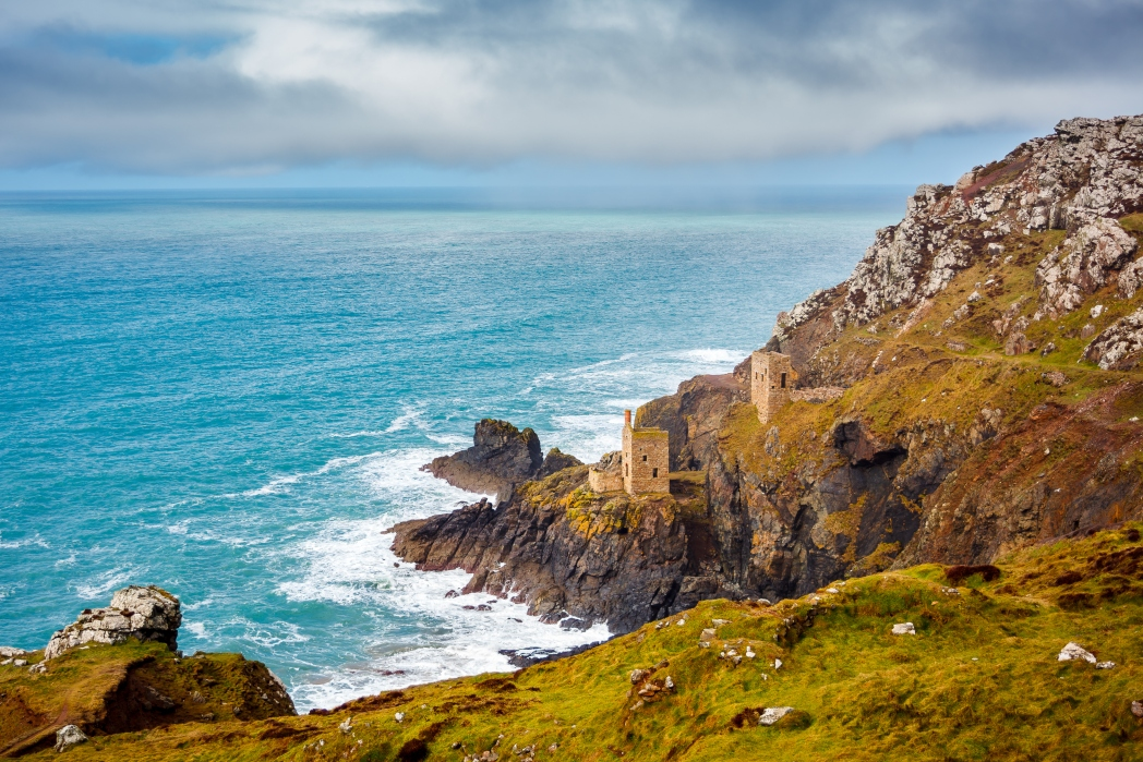 Botallack Mine on the cliffs, Cornwall