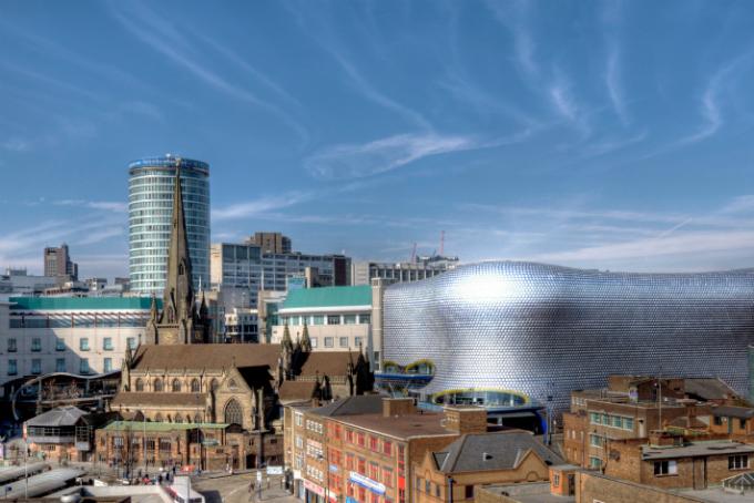 Birmingham city centre © Bs0u10e0/Flickr