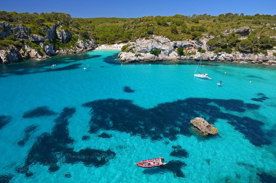 Cala Macarelleta, one of Spain's best beaches