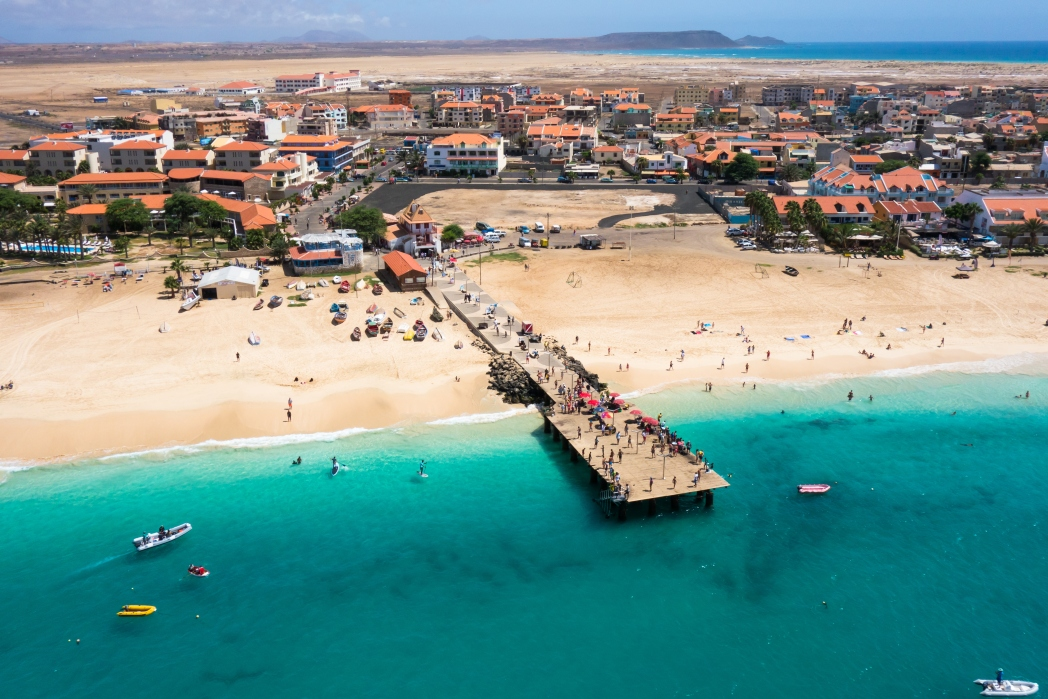 Cape Verde is hot in spring