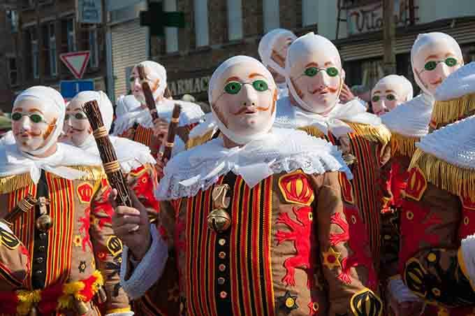 Carnival Binche Belgium © Weskerbe / Shutterstock.com