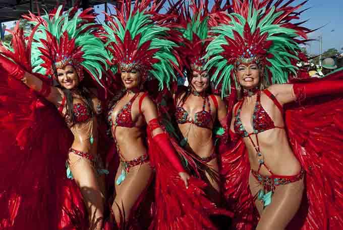 Trinidad and tobago carnival caribbean © John de la Bastide  / Shutterstock.com