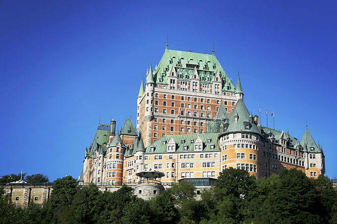 Chateau Frontenac Canada.