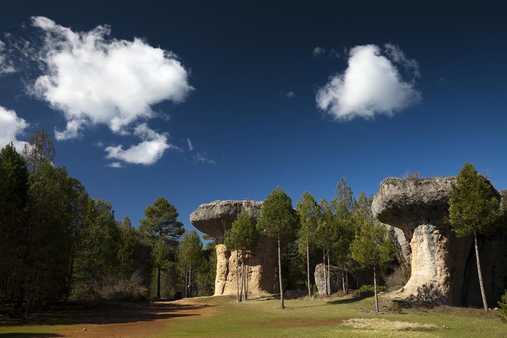 La ciudad encantada Cuenca Spain rock formations