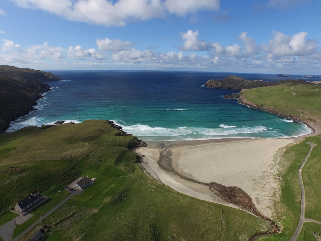 Cliff Beach Isle Of Lewis Outer Hebrides