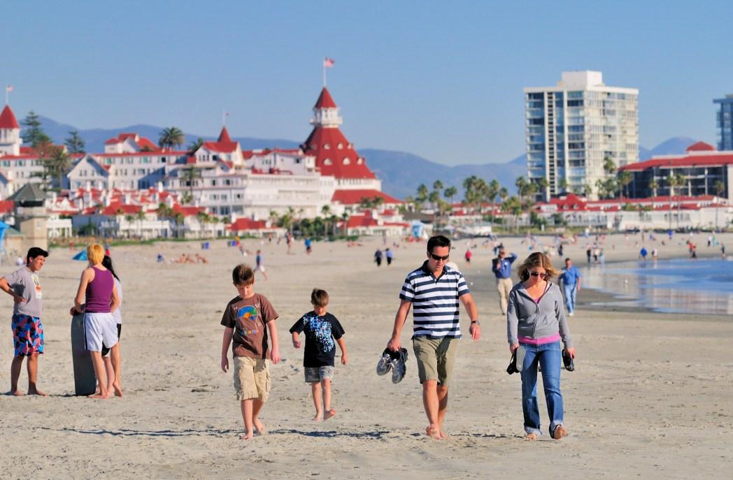 Coronado Beach, San Diego