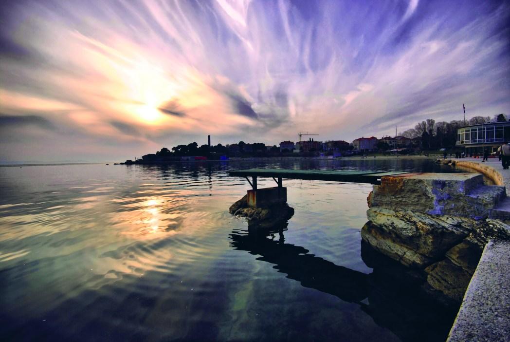 Bačvice Beach, Croatia is one of many beaches near Split