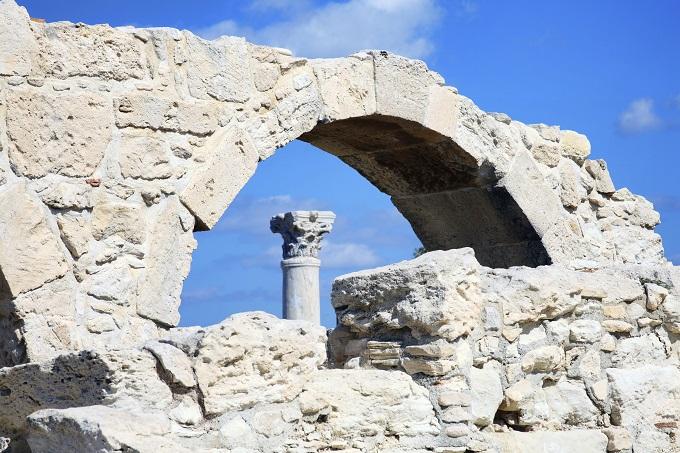 Roman ruins in Kourion