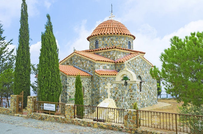 Church in Troodos Mountains