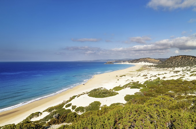 Golden beach, North Cyprus