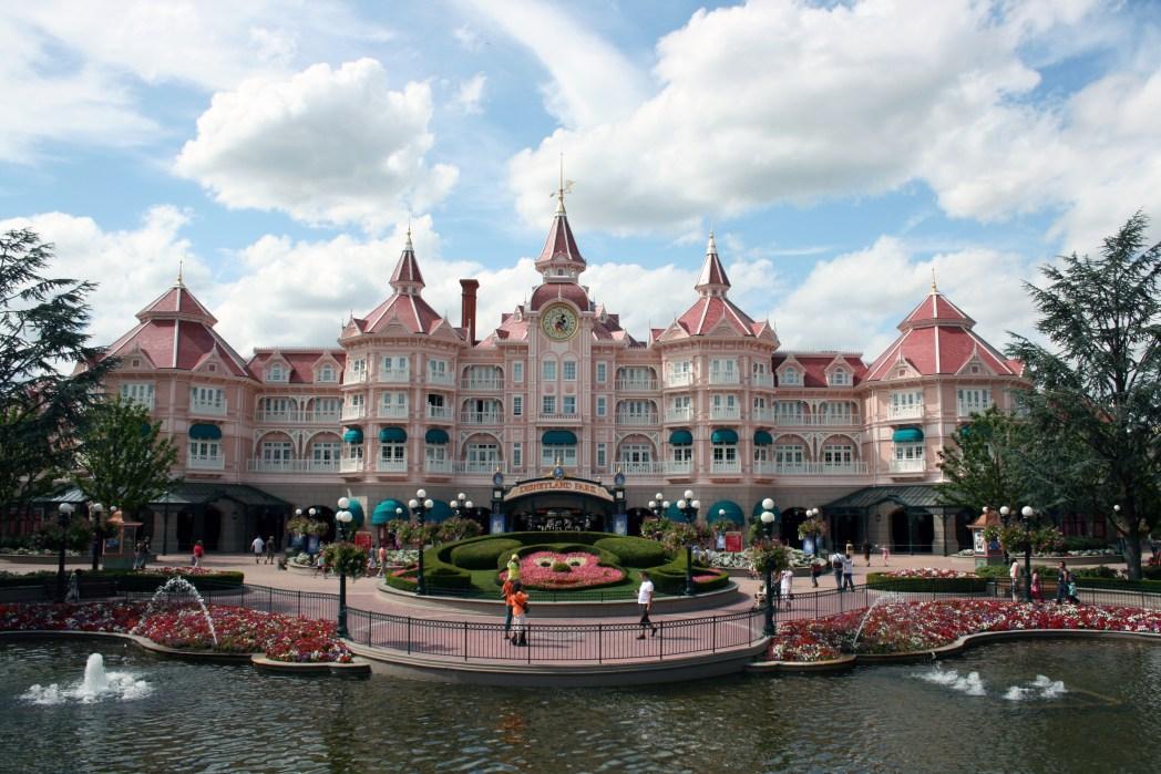 Entrance to Disneyland Paris