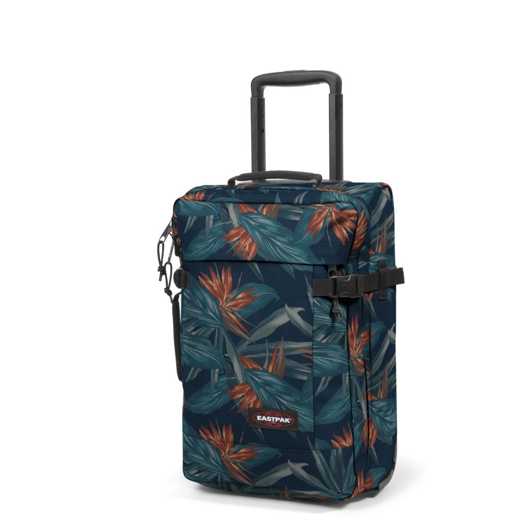 Eastpak Tranverz Xs Wheeled Carry On Bag In Fl Pattern