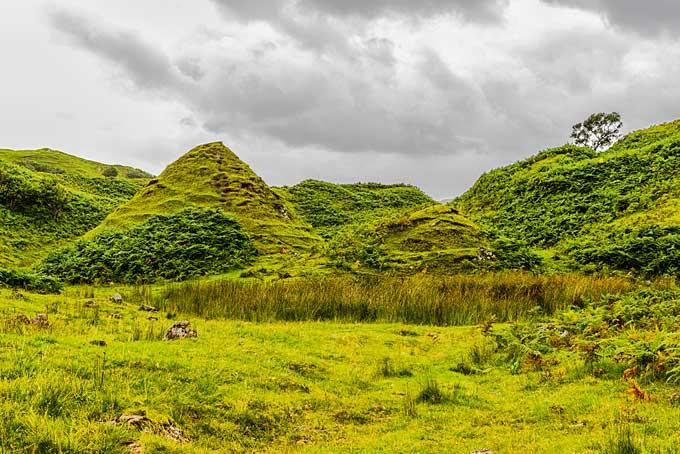 fairy glen skye scotland