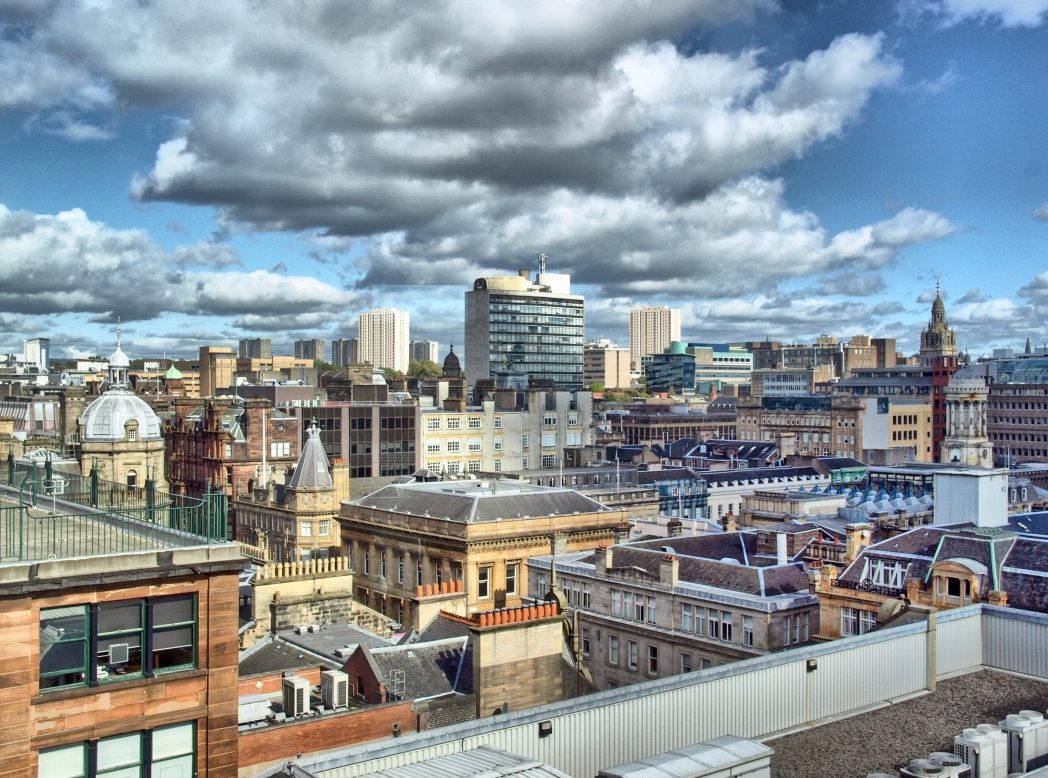 Glasgow's rejuvenated skyline