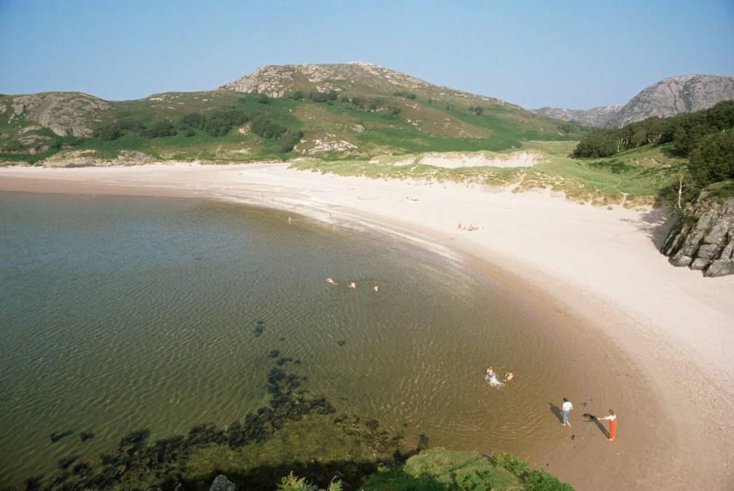 Gruinard Bay, one of Scotland's best beaches