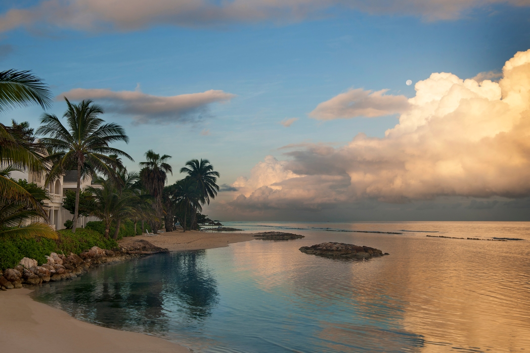 Half Moon beach is one of the most beautiful beaches in the Caribbean