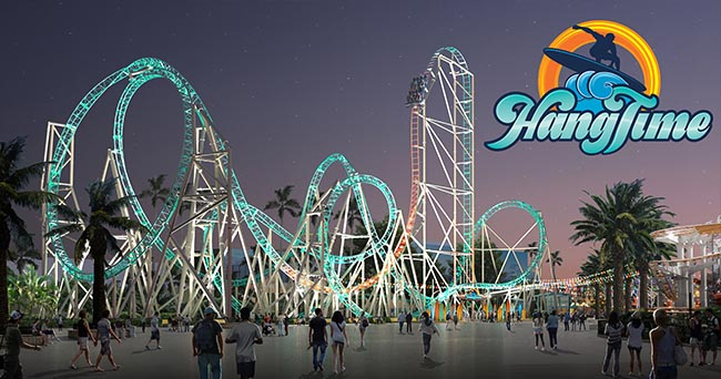 Rollercoasters in California