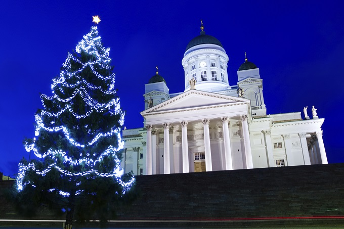 Find some Christmas spirit in Finland.