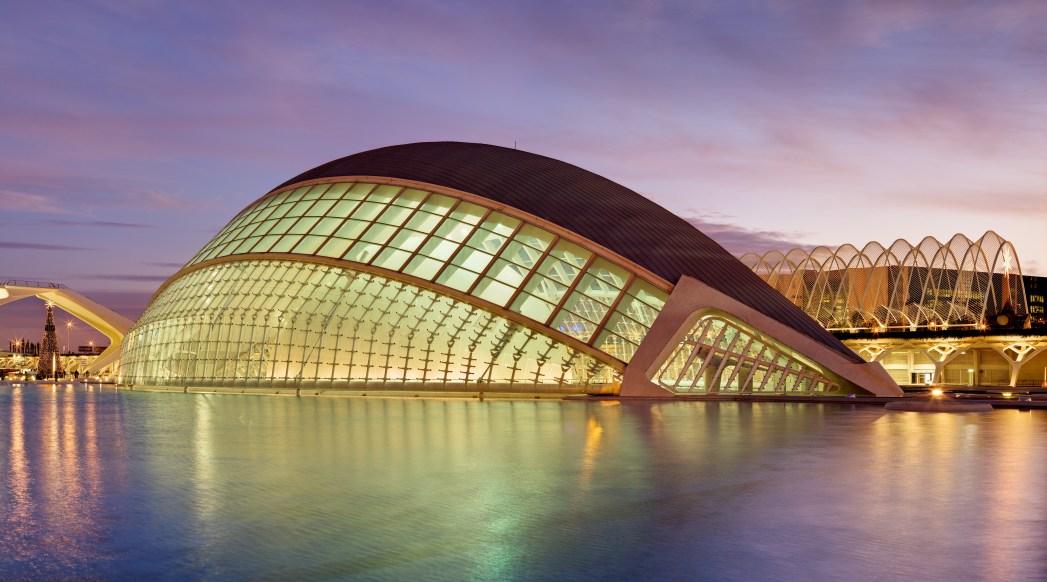 El Hemisferic, Valencia