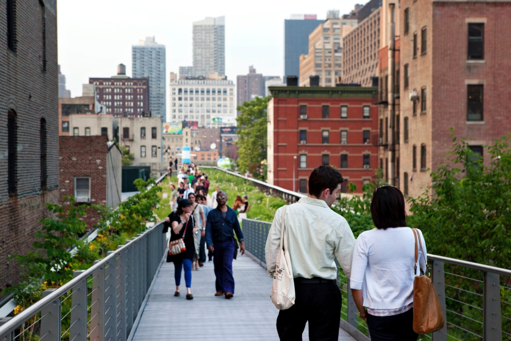 The High Line Park, NYC