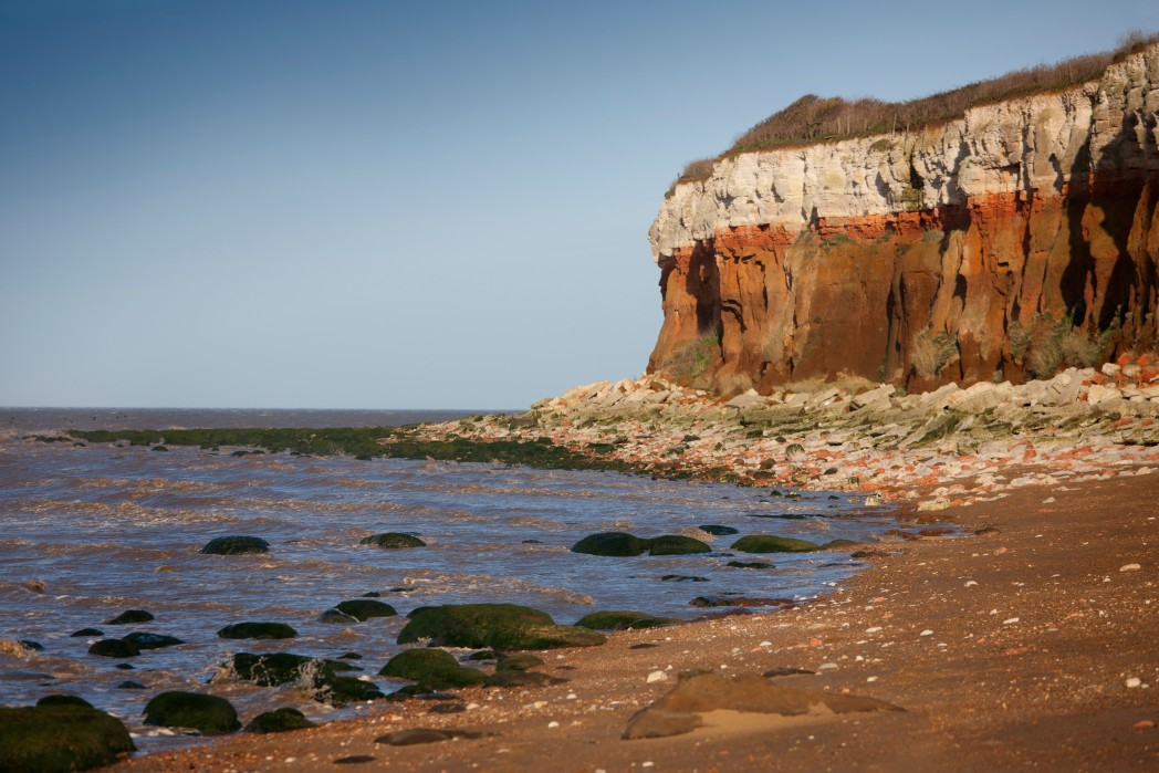 Hunstanton Beach is one of the UK's most popular seaside resorts
