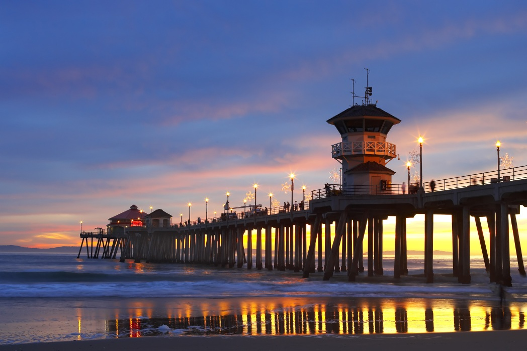 Huntington Beach is one of California's most famous beaches