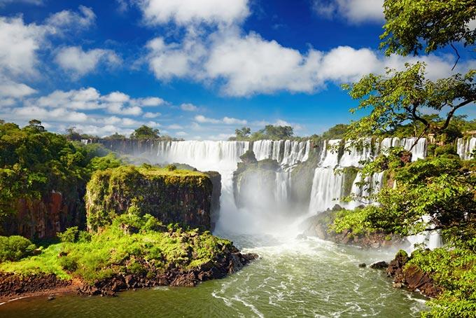 Beautiful Iguazu Falls.
