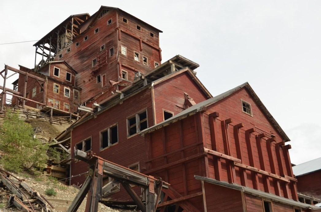 Abandoned mine, Kennecott, Alaska