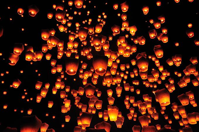 Lanterns, Taipei, Taiwan