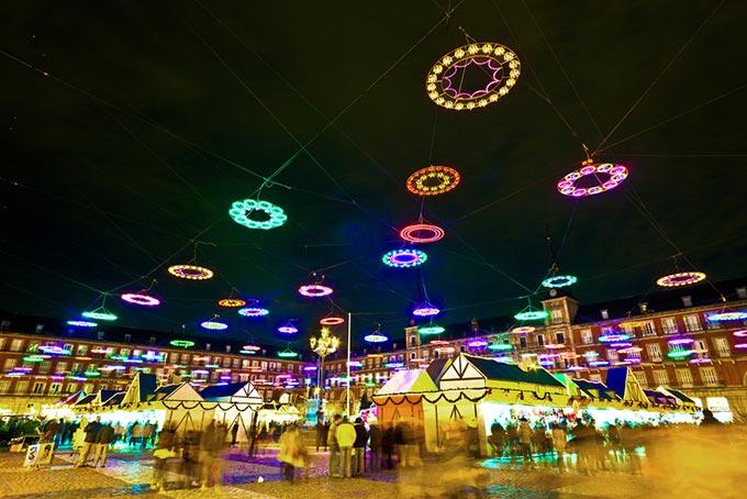 Madrid Christmas Market, Plaza Mayor