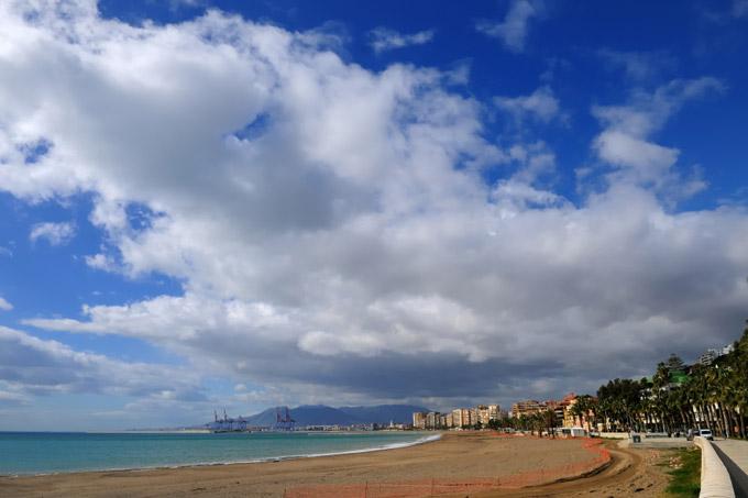 Malaga seafront